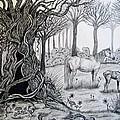 Horse Meadow by Jennifer Foslien-Wheeler