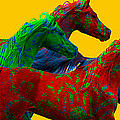 Horse Of A Different Color by Patty Hallman