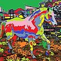 horse Portrait 8 by Adrian Tovnodtov