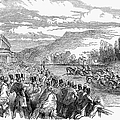 Horse Racing, 1850 by Granger