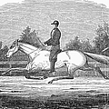 Horse Racing, 1851 by Granger