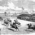 Horse Racing, 1870 by Granger