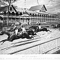 Horse Racing, 1889 by Granger