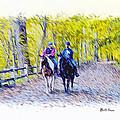 Horseback Riding  by Bill Cannon