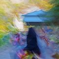 Horseback Shades And Vibes by Kantilal Patel