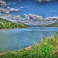 Horsetooth Reservoir Summer Hdr by Aaron Burrows