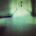 Hospital Hallway by Jill Battaglia
