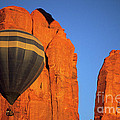 Hot Air Balloon Monument Valley 1 by Bob Christopher