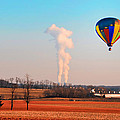 Hot Air Balloon Near Limerick Pa by Bill Cannon