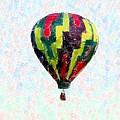 Hot-air-balloon by Susan Carella