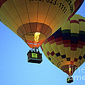 Hot Air Balloons 17 by Bob Christopher
