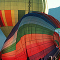Hot Air Balloons In Albuquerque by Carl Purcell