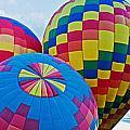 Hot Air Balloons Panorama by Jim Chamberlain