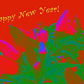 Hot As A Pepper New Year Greeting Card by Mother Nature