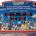 Hotdog Eating Contest Time by Rob Hans