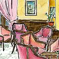 Hotel Ascot Lounge by Megan Little