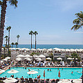 Hotel Del Coronado Pool  by Ralf Kaiser