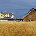 House And Barn by Randy Harris