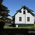 House At Point Reyes Calfornia . 7d16125 by Wingsdomain Art and Photography