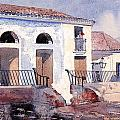 House in Santiago by Winslow Homer
