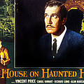 House On Haunted Hill, Vincent Price by Everett