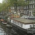 Houseboats Of Rotterdam by Jennifer Sabir