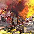 Houses In Fire by Miki De Goodaboom