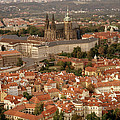 Hradcany In Prague by Shaun Higson