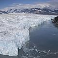 Hubbard Glacier Encroaching On Gilbert by Matthias Breiter