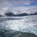 Hubbard Glacier Encroaching On Gilbert Point by Matthias Breiter