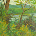 Hudson Highlands View by Phyllis Tarlow