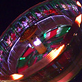 Human Roulette Wheel by Kym Backland