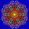 Humandala 1 by David Kleinsasser