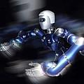 Humanoid Robot, Artwork by Detlev Van Ravenswaay