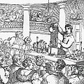 Humphrey Davy Lecturing, 1809 by Science Source