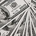 Hundred Dollar Bills by Joe Carini - Printscapes