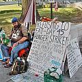 Hunger Strike by David Bearden