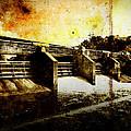 Huron River Dam by Phil Perkins