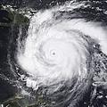 Hurricane Dean In The Atlantic by Stocktrek Images