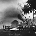 Hurricane In The Caribbean by Fritz Henle and Photo Researchers