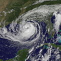 Hurricane Isaac In The Gulf Of Mexico by NASA GOES Project