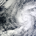 Hurricane Kenneth Off The Coast by Stocktrek Images