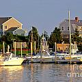 Hyannis Harbor At Sunset by Matt Suess