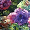 Hydrangea In Shadow by Elizabeth Taft