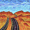 I - 15 Nevada To California by Carl Deaville