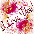 I Love You Card 1 by Andee Design