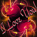 I Love You Card 2 by Andee Design
