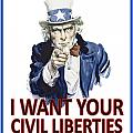 I Want Your Civil Liberties by Matt Greganti
