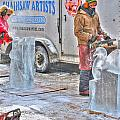 Ice Sculptures Coming About by Michael Frank Jr