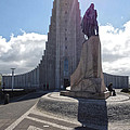 Iceland Leif Erricson Statue 02 by Gregory Dyer